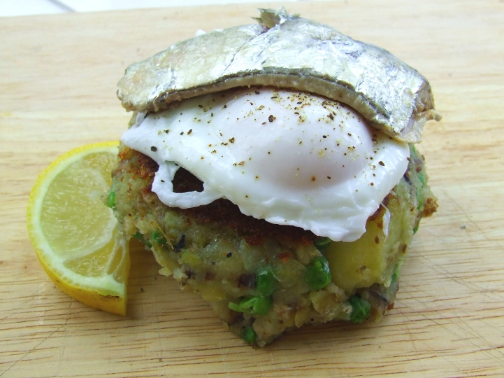 Pea & Potato Fish Cakes