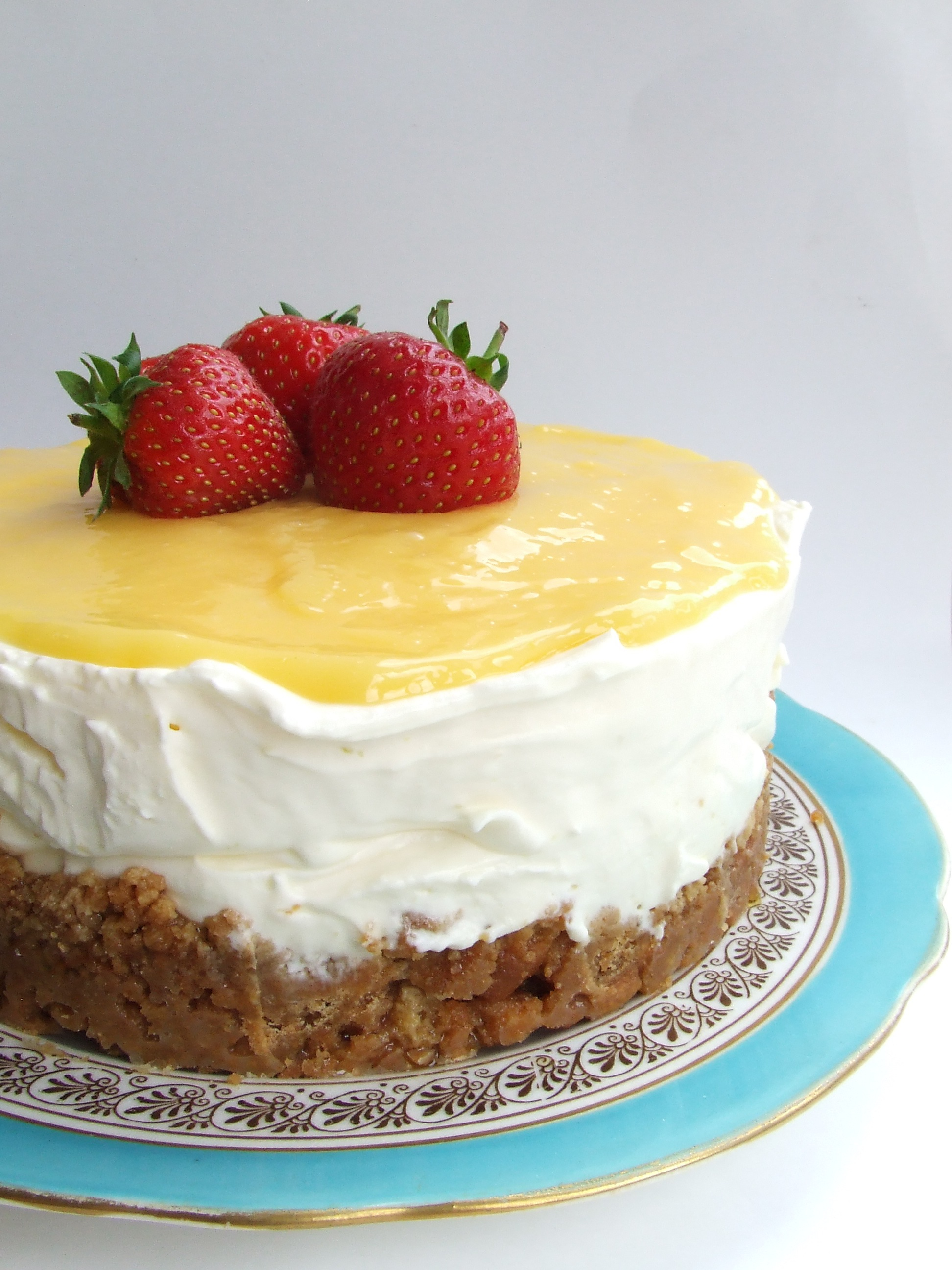 Lemon & Ginger Cheesecake | Always Add Cinnamon