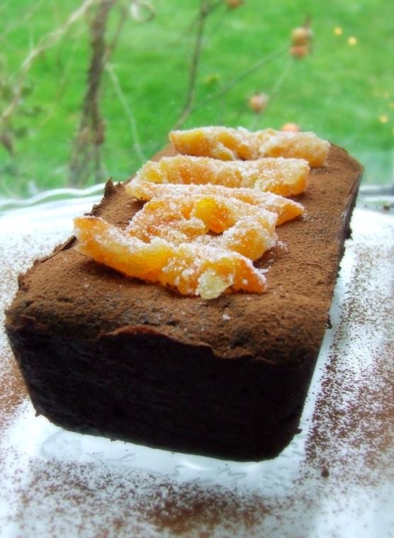 Gluten free chocolate orange cake 2