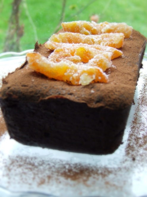 Gluten free chocolate orange cake