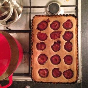 Pumpkin Seed Frangipane Tart