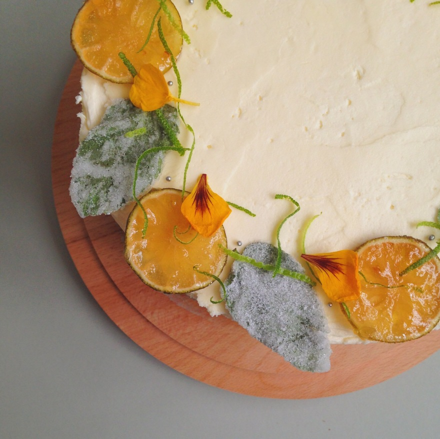 Mojito Layer Cake top view