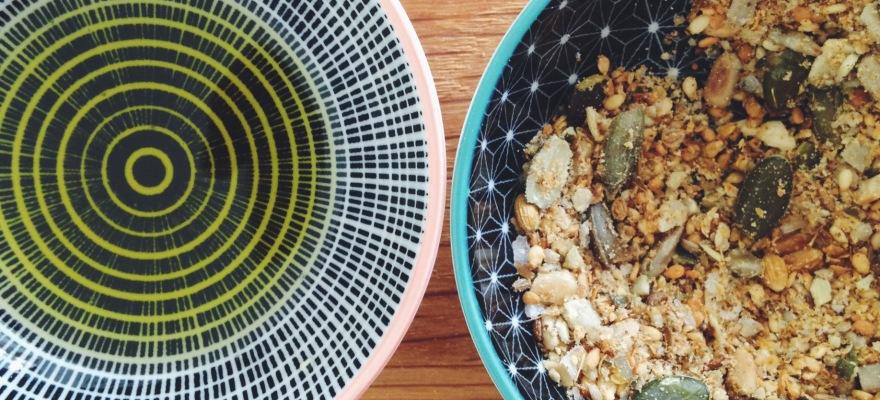 Nut-free Dukkah from Always Add Cinnamon