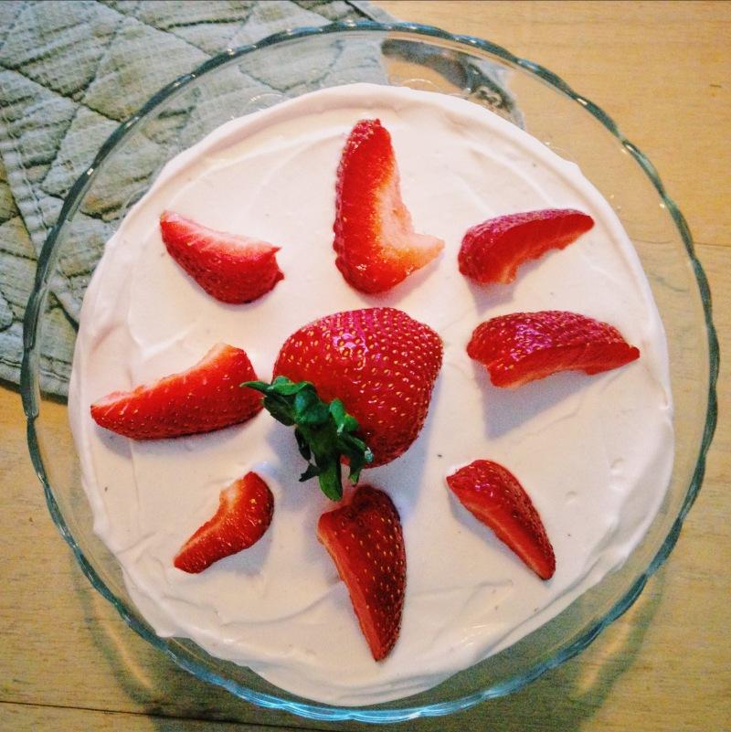 Strawberry, Orange Liqueur and Black Pepper Layer Cake