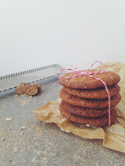 Spiced Orange and Date Cookies