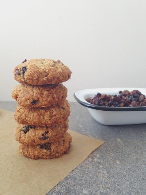 Mincemeat Oat Cookies