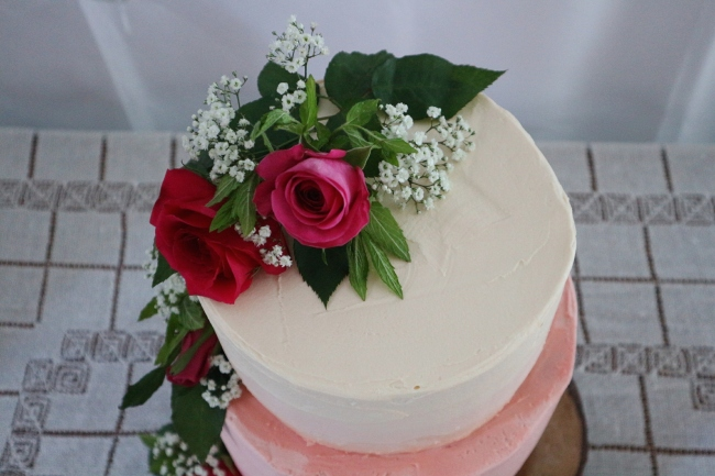 DIY Wedding Cake: Part 2 The Party