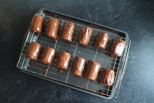 Great British Bake Off Technical Challenge Week 1: Chocolate Mini Rolls