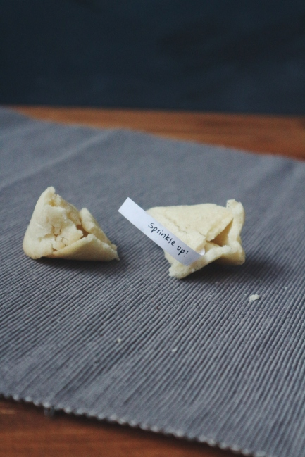Great British Bake Off Technical Challenge Week 2: Fortune Cookies