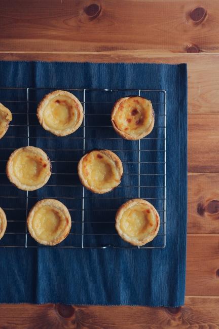 Great British Bake Off Technical Challenge Week 6: Pasteis de Nata