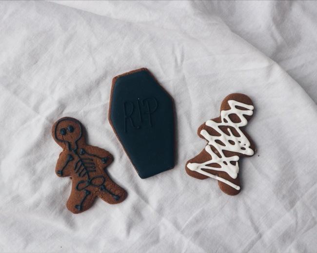Spice Halloween Biscuits