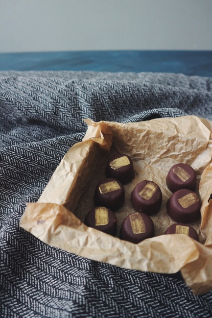 Nut-free Marzipan Chocolates