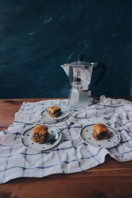 Nut-free Baklava
