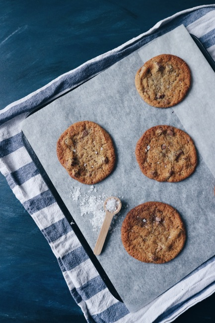 Malted Chocolate Chip Cookies